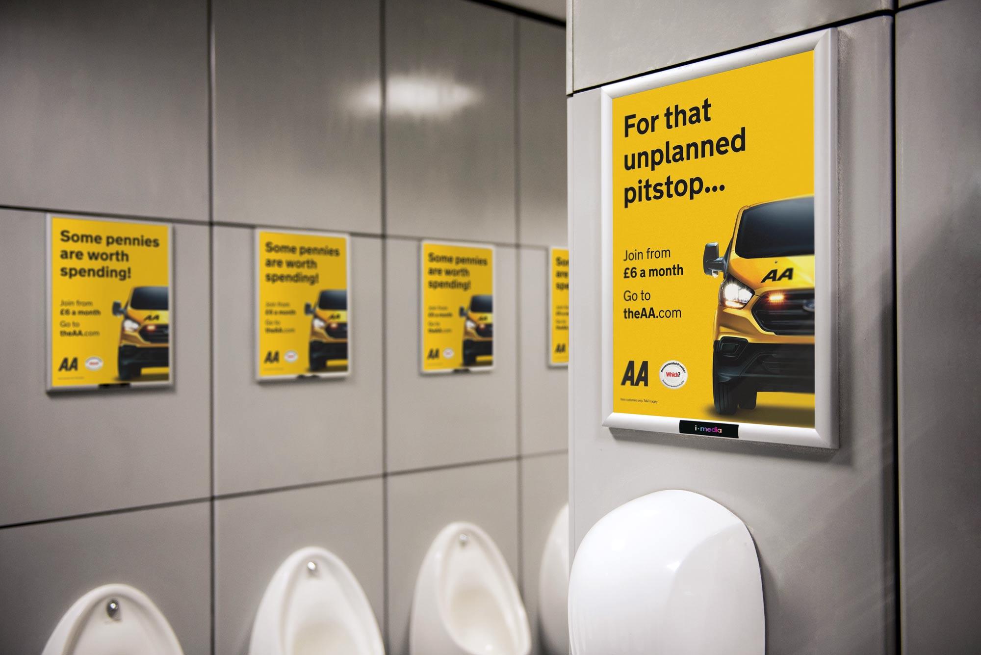 A3 Washroom Panels