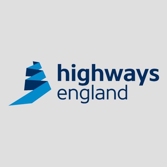 Highways England motorway service advertising