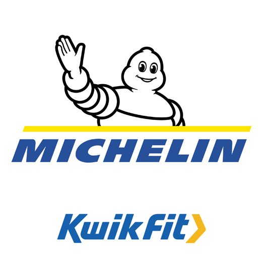 Michelin Tyres logo at KwikFit